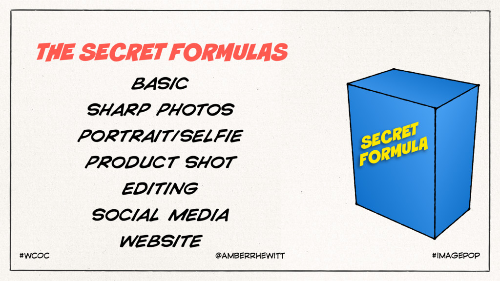THE SECRET FORMULAS BASIC SHARP PHOTOS PORTRAIT...