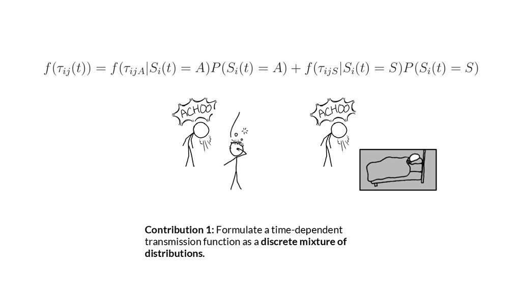 Contribution 1: Formulate a time-dependent tran...