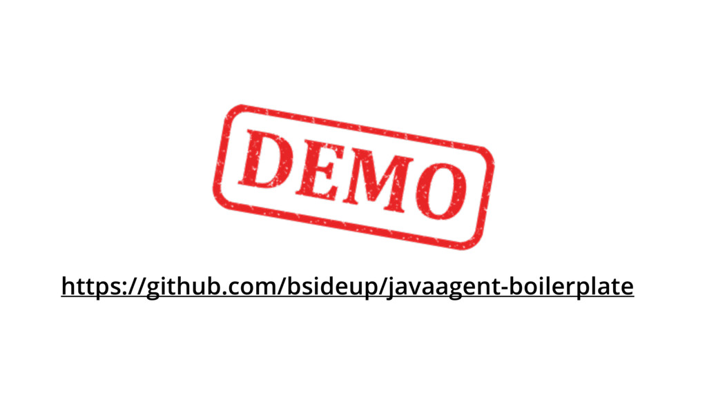 https://github.com/bsideup/javaagent-boilerplate