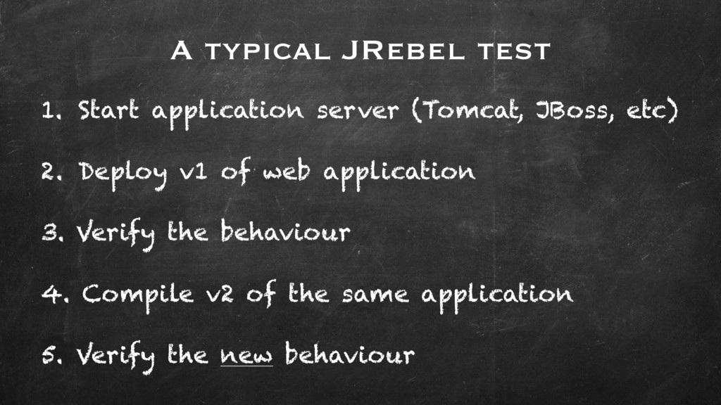 1. Start application server (Tomcat, JBoss, etc...