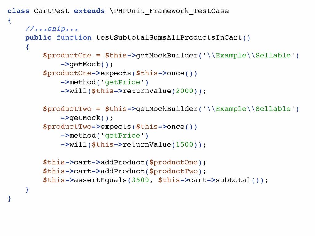 class CartTest extends \PHPUnit_Framework_TestC...