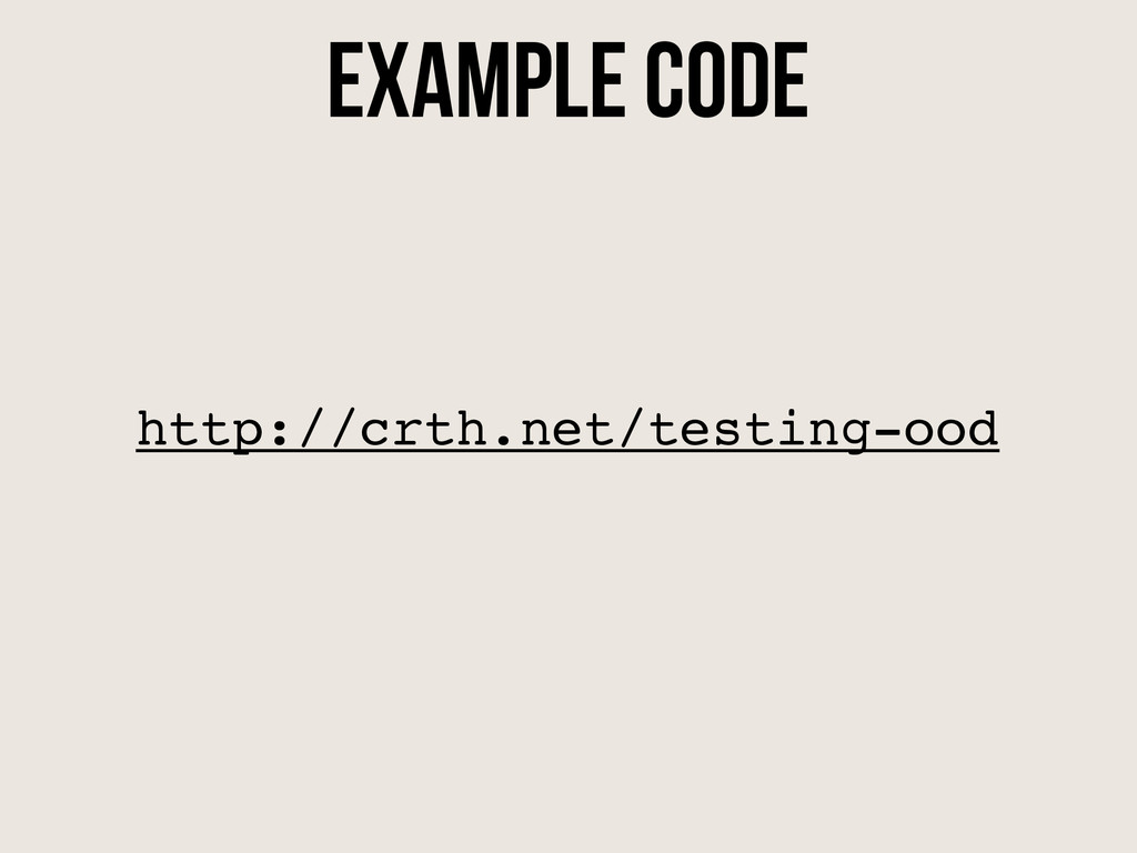 http://crth.net/testing-ood Example code