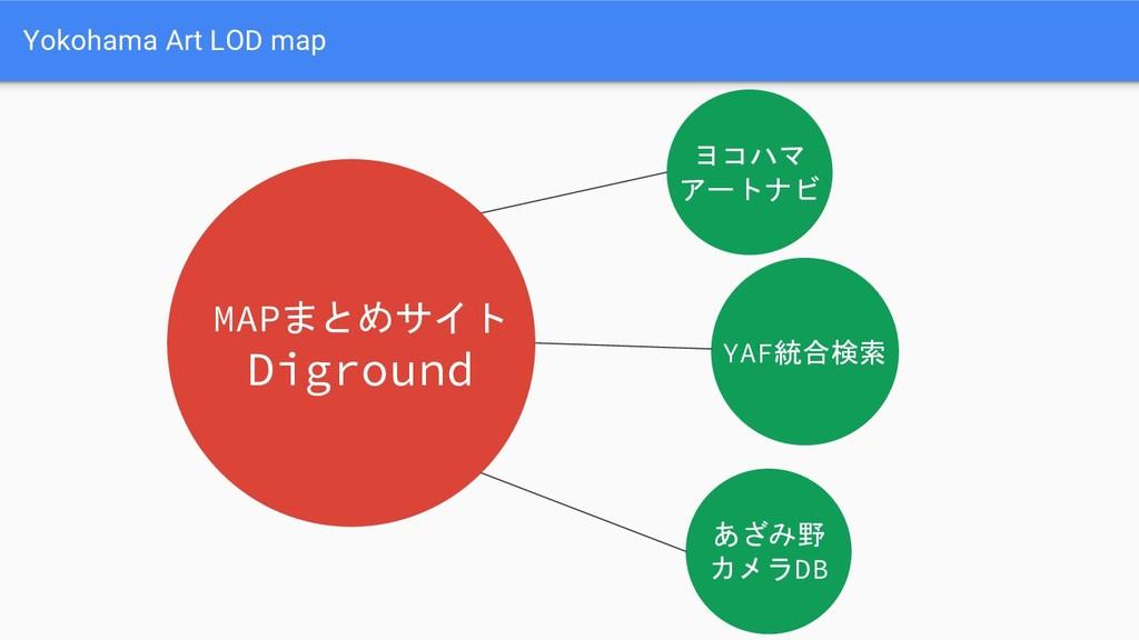 Yokohama Art LOD map ヨコハマ アートナビ MAPまとめサイト Digro...