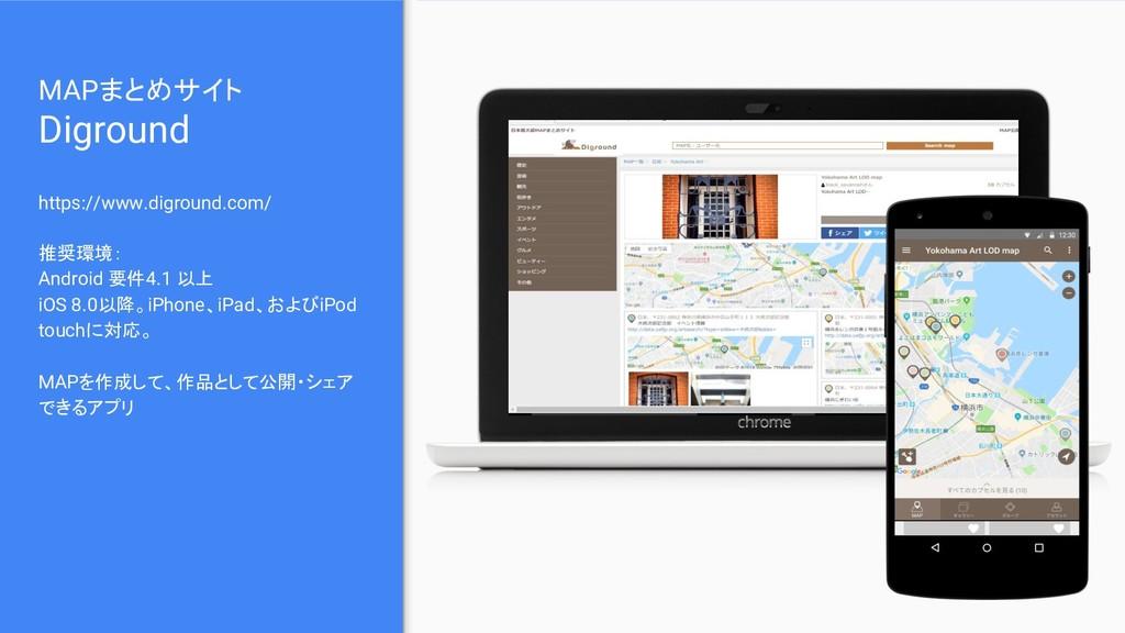 MAPまとめサイト Diground https://www.diground.com/ 推奨...