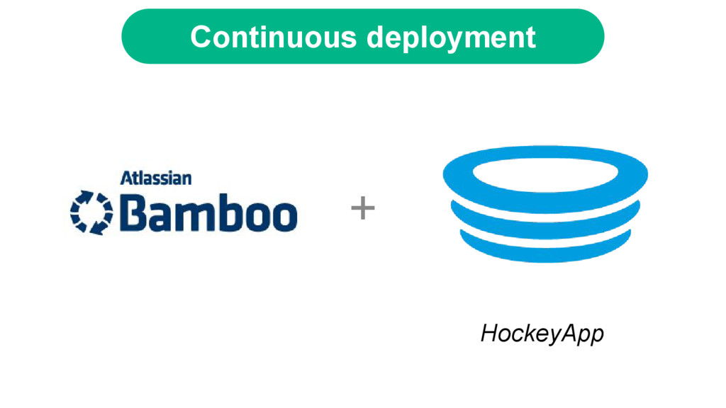 + HockeyApp Continuous deployment