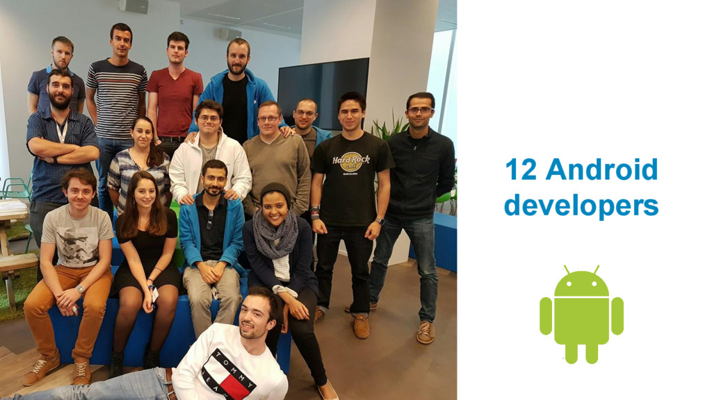 12 Android developers