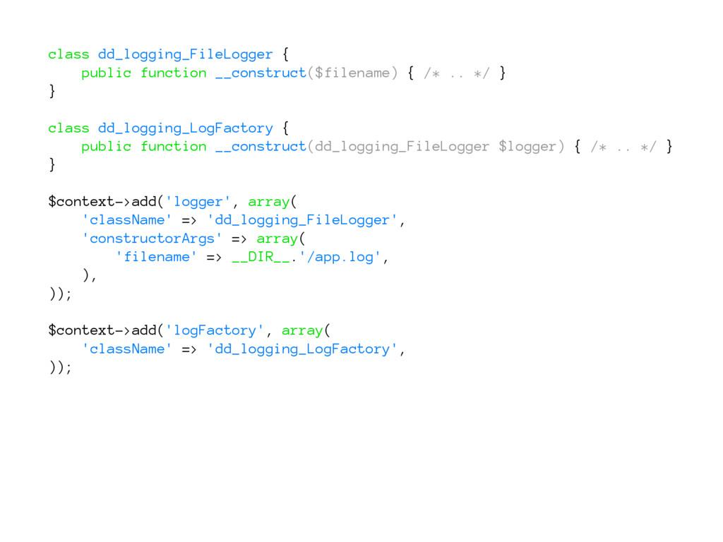 class dd_logging_FileLogger { public function _...
