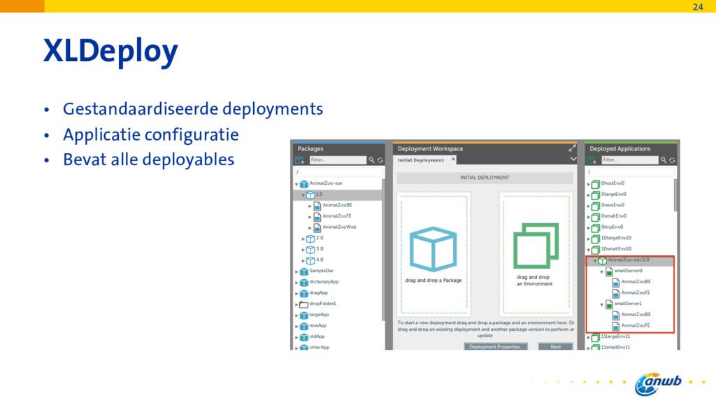 XLDeploy • Gestandaardiseerde deployments • App...