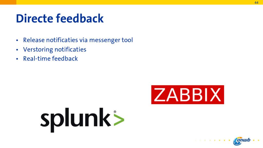 Directe feedback • Release notificaties via mes...