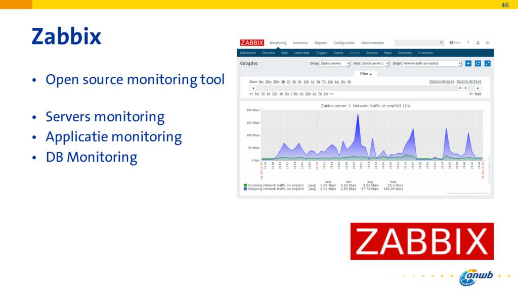 Zabbix • Open source monitoring tool • Servers ...