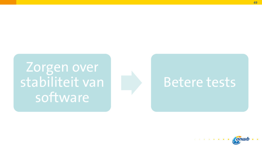 Zorgen over stabiliteit van software Betere tes...
