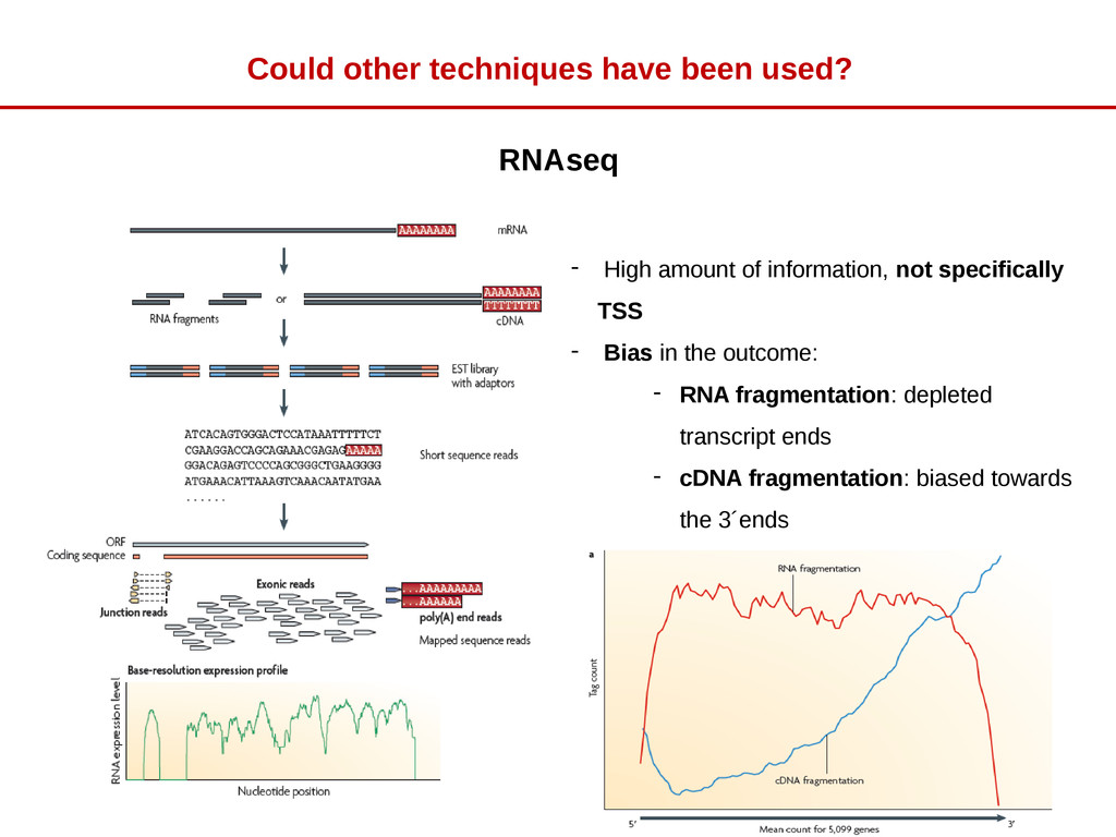 RNAseq - High amount of information, not specif...