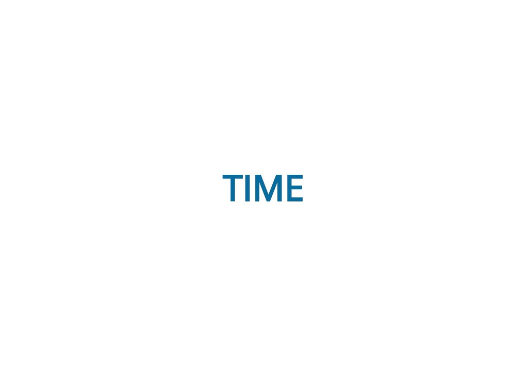 TIME TIME