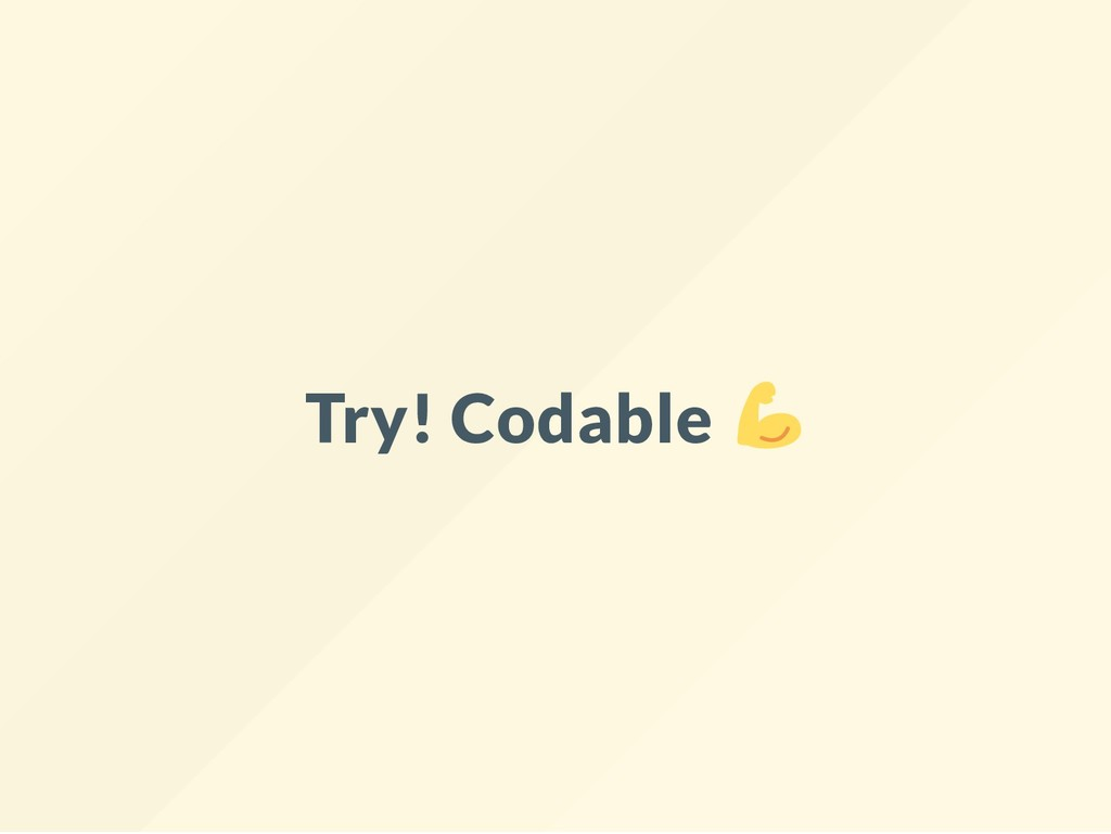 Try! Codable
