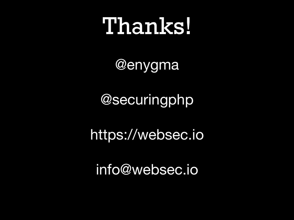 Thanks! @enygma  @securingphp  https://websec.i...