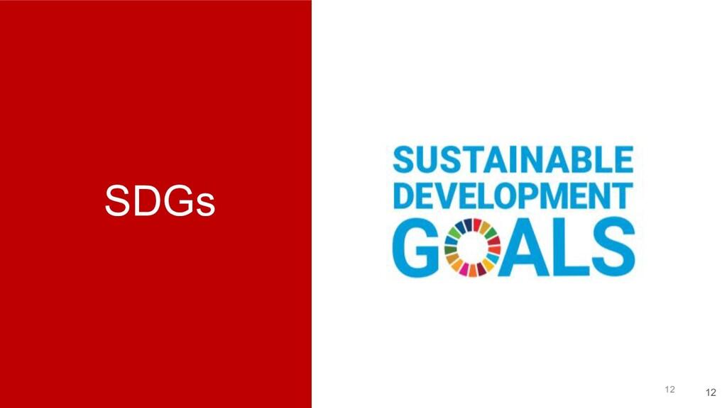 SDGs 12 12