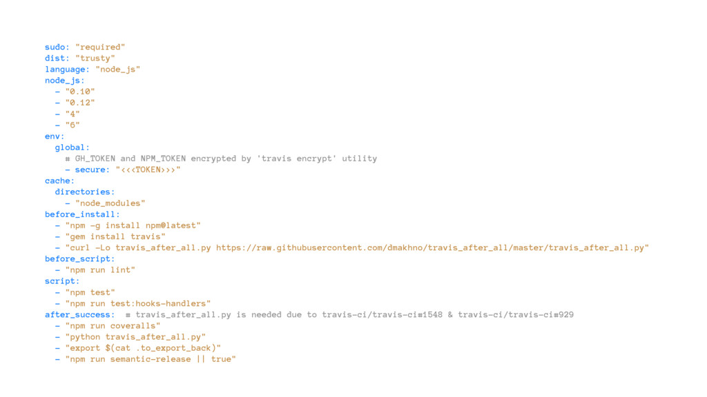 "sudo: ""required"" dist: ""trusty"" language: ""node..."