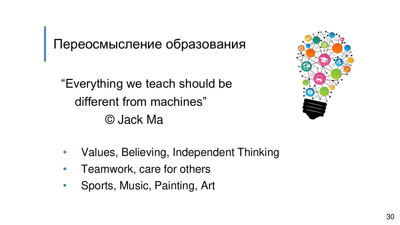 """Переосмысление образования """"Everything we teach..."""