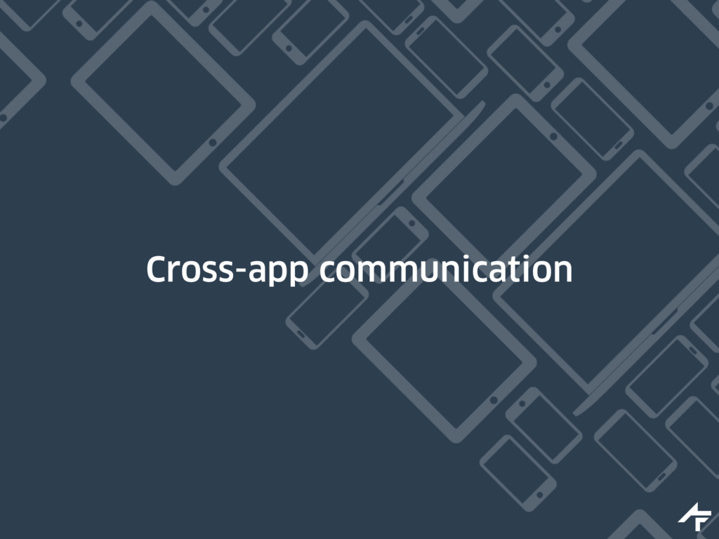Cross-app communication