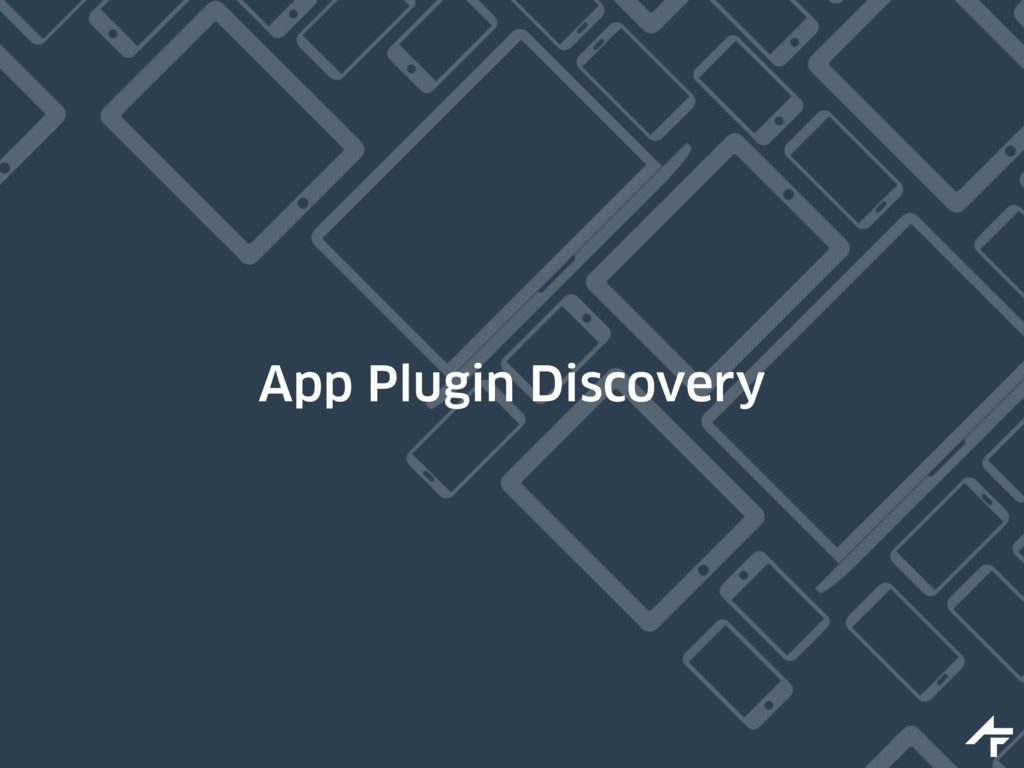 App Plugin Discovery
