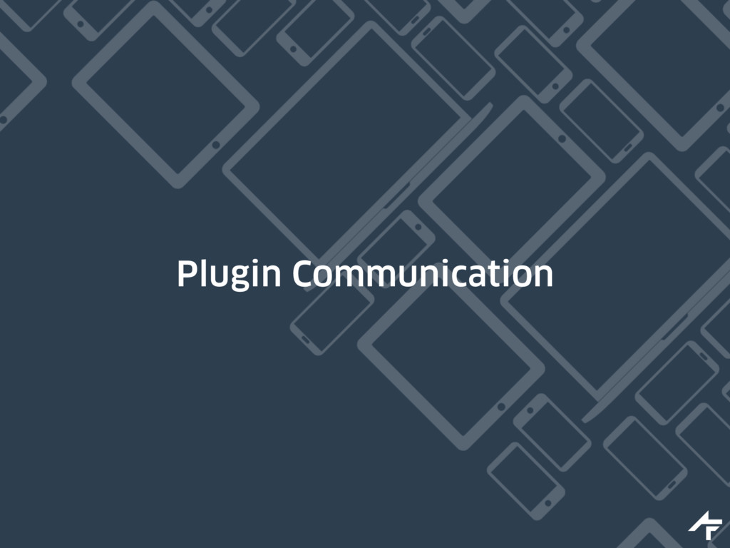 Plugin Communication