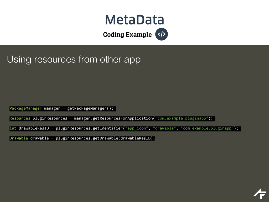Coding Example MetaData Using resources from ot...