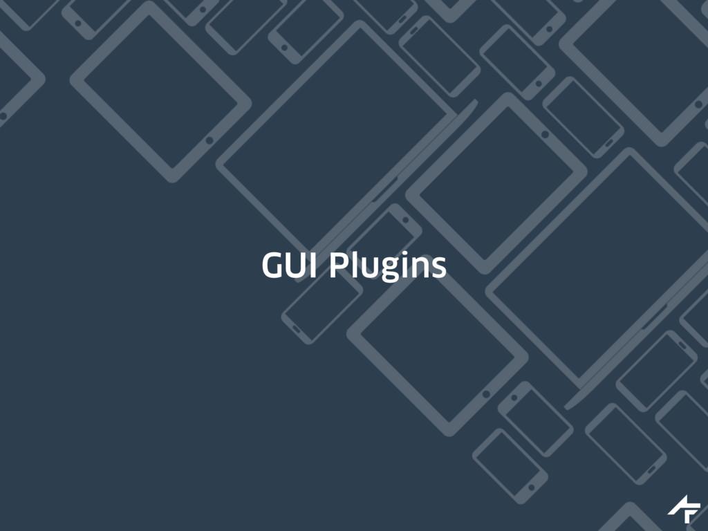 GUI Plugins