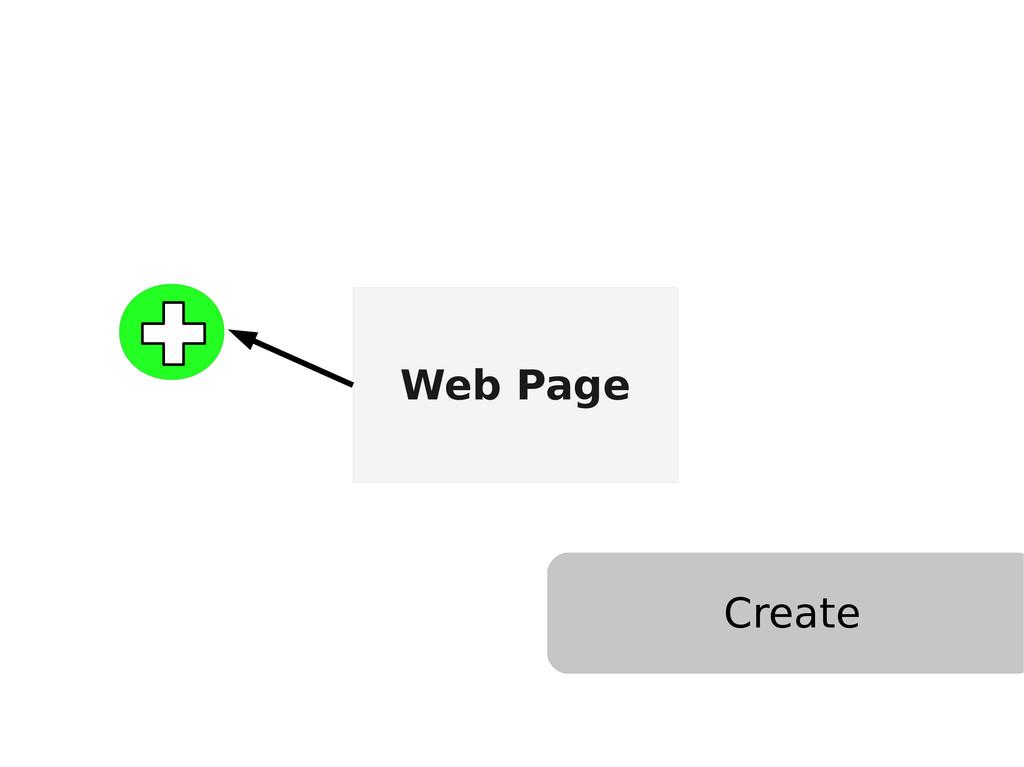 Web Page Create