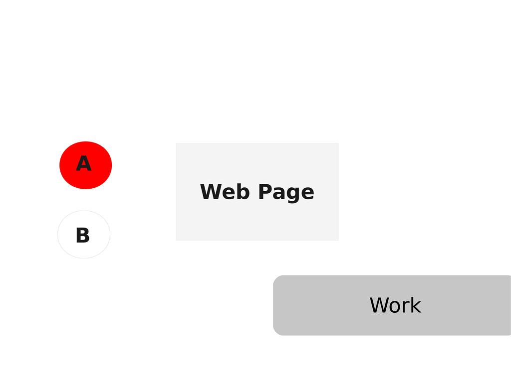 Web Page A B Work