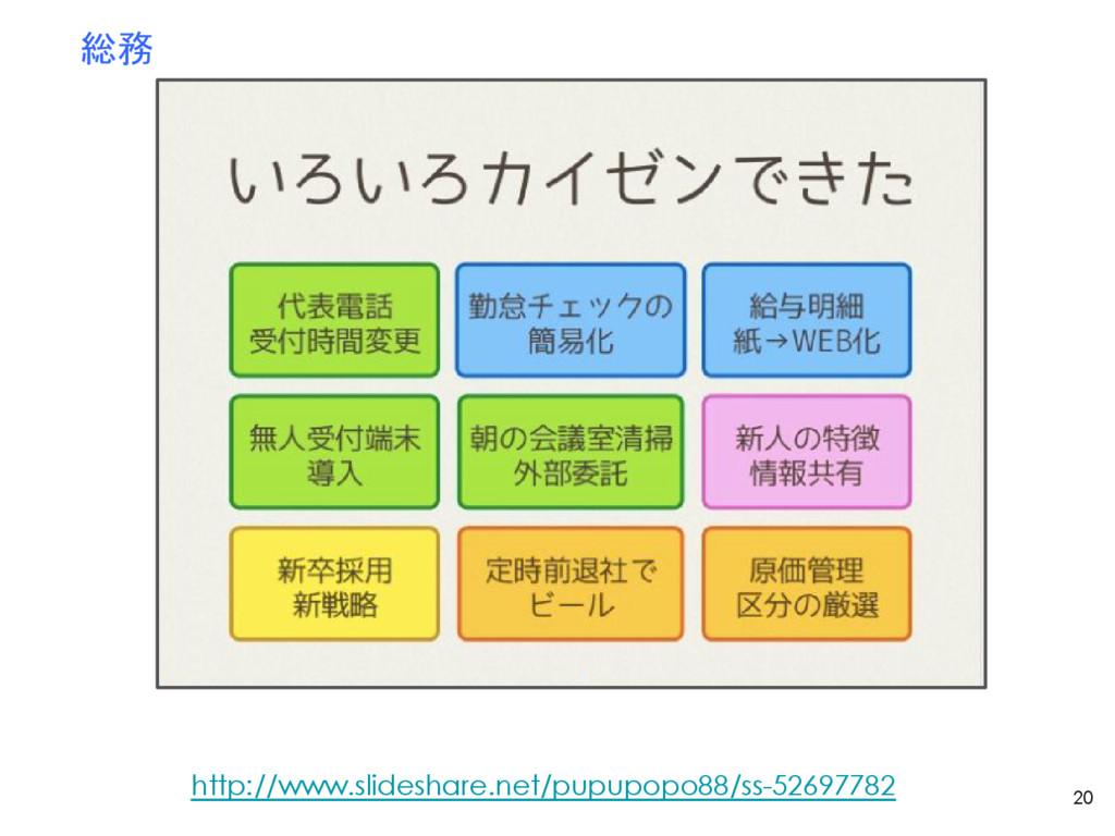 20 総務 http://www.slideshare.net/pupupopo88/ss-5...