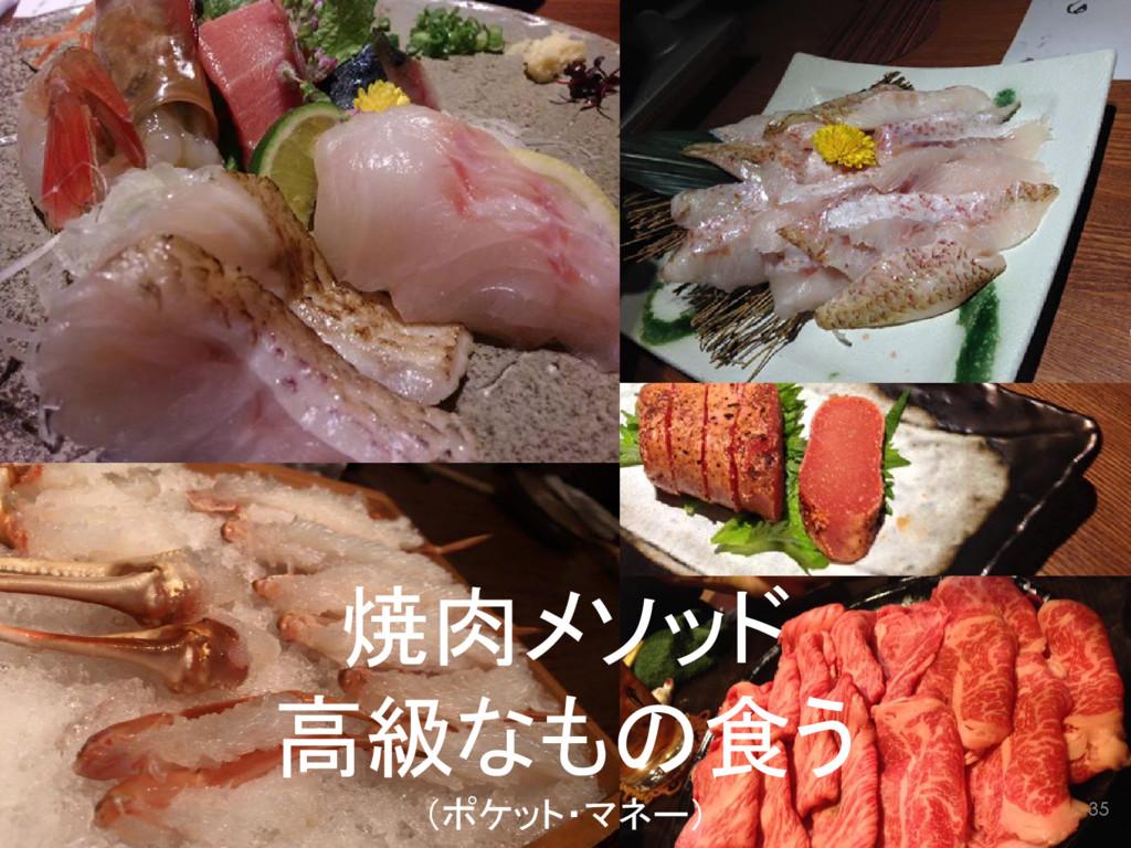 焼肉メソッド 高級なもの食う (ポケット・マネー) 35