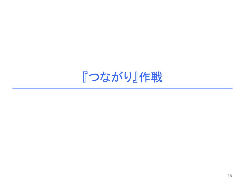 『つながり』作戦 43