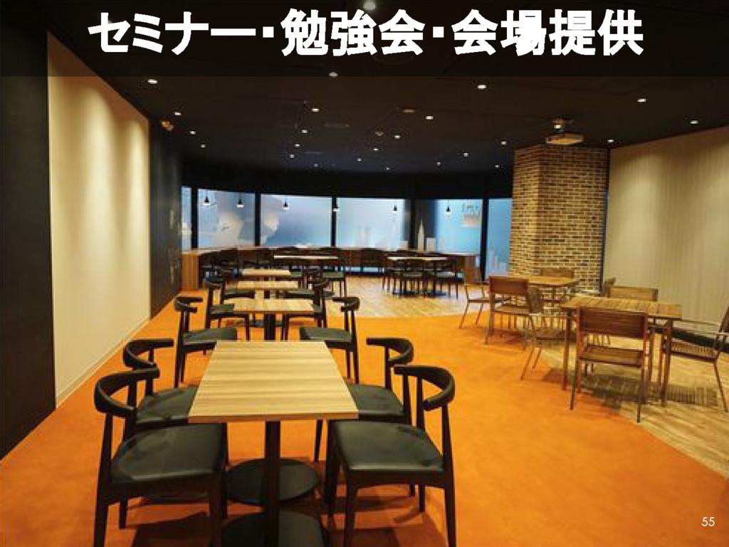 セミナー・勉強会・会場提供 55