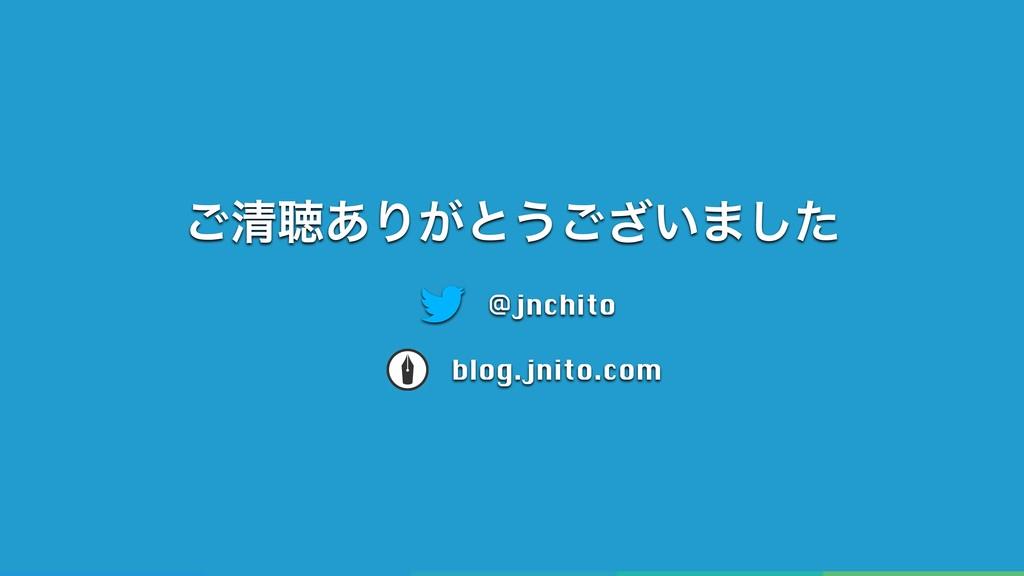 ͝ਗ਼ௌ͋Γ͕ͱ͏͍͟͝·ͨ͠ @jnchito blog.jnito.com