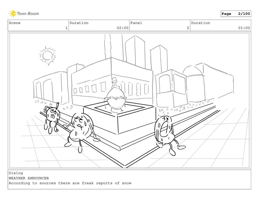 Scene 1 Duration 02:00 Panel 2 Duration 01:00 D...