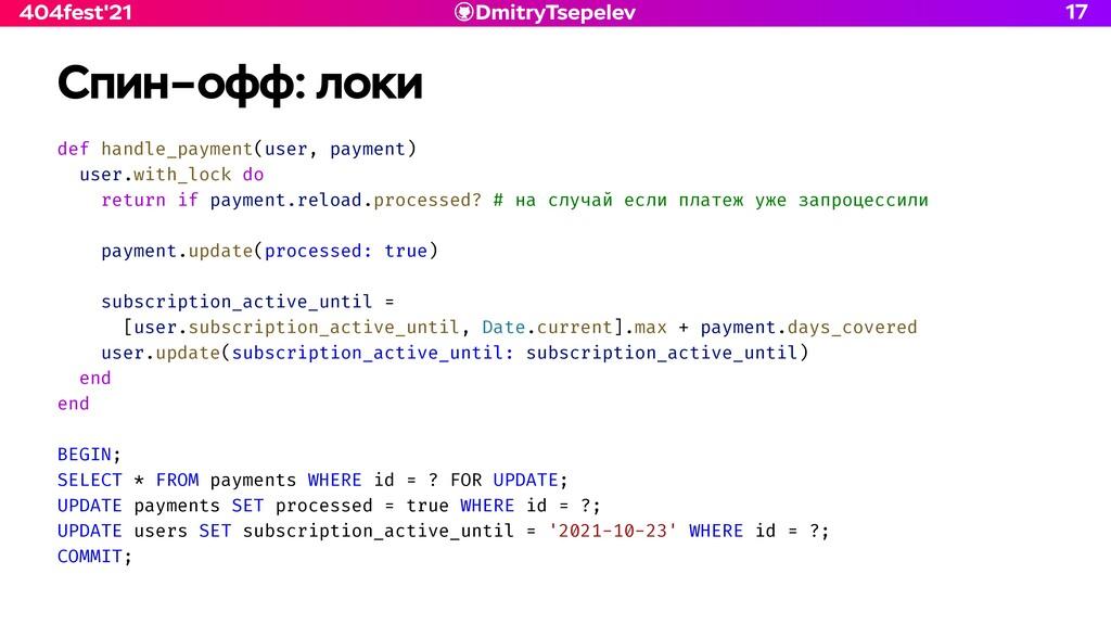 DmitryTsepelev 404fest'21 Спин–офф: локи def ha...