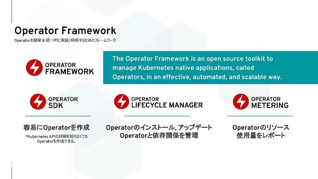 を簡単 統一的に実装 利用するためのフレームワーク 容易に を作成 の詳細を知らなくても を作...