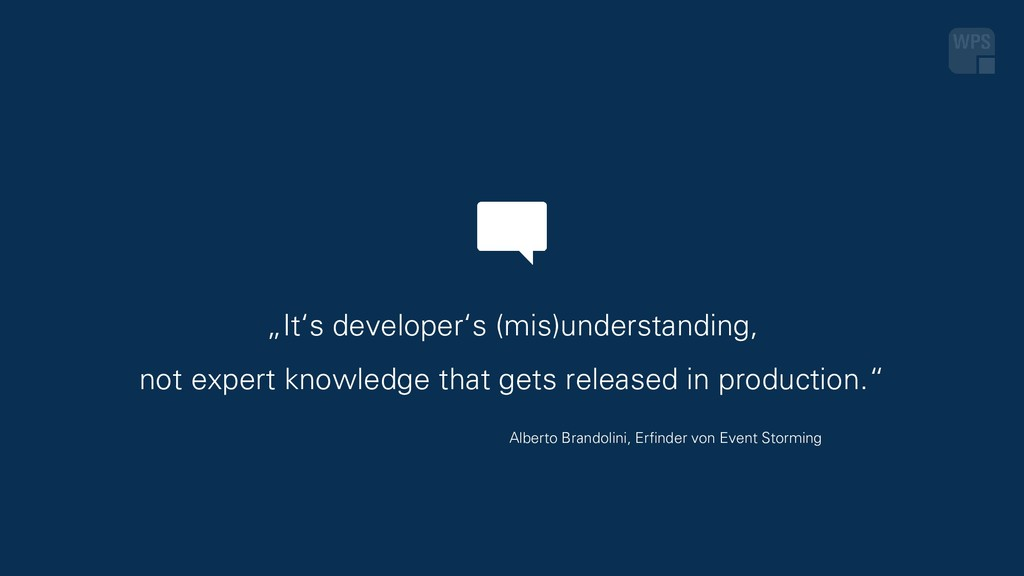 """It's developer's (mis)understanding, not exper..."