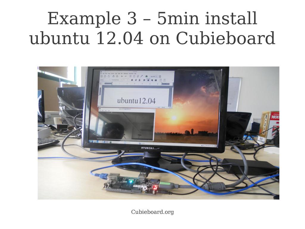 Cubieboard.org Example 3 – 5min install ubuntu ...