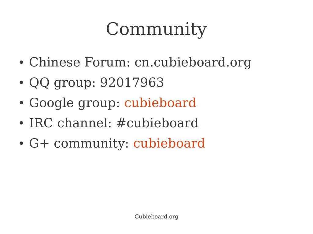 Cubieboard.org Community ● Chinese Forum: cn.cu...
