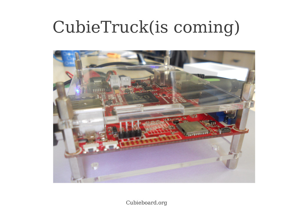 Cubieboard.org CubieTruck(is coming)