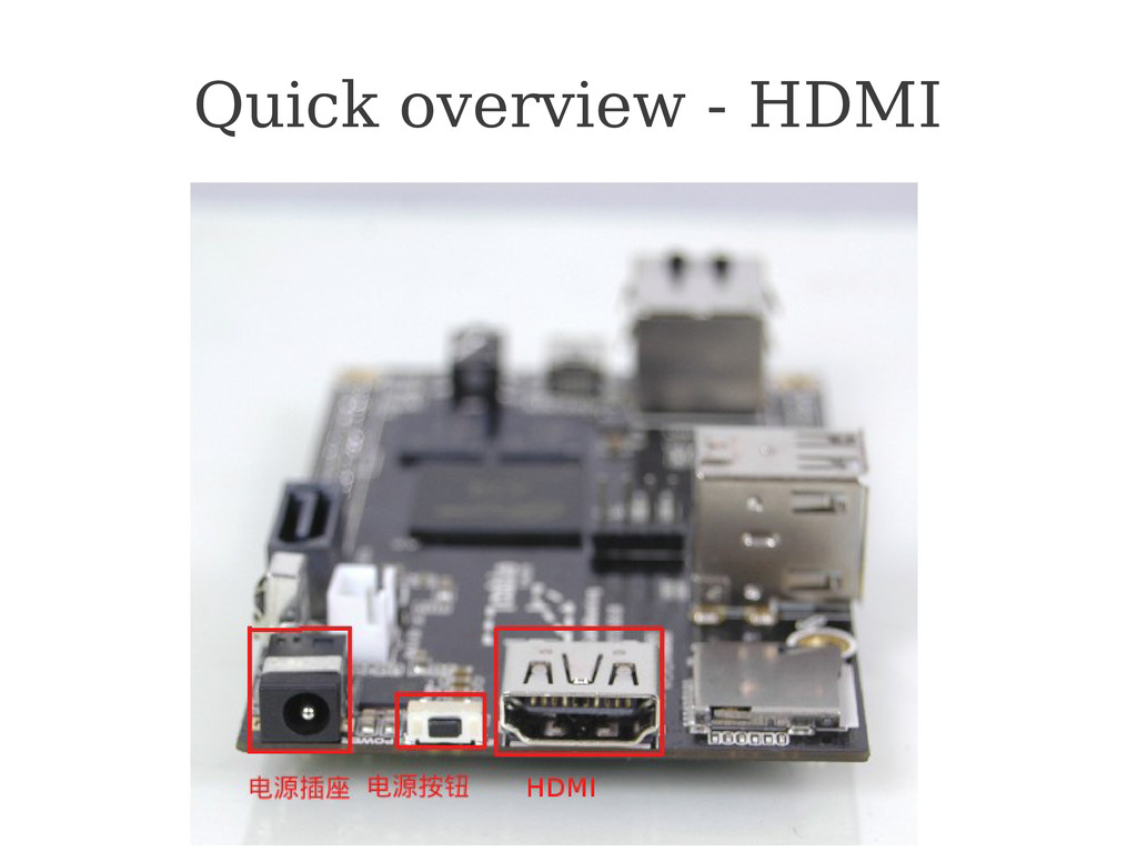 Cubieboard.org Quick overview - HDMI
