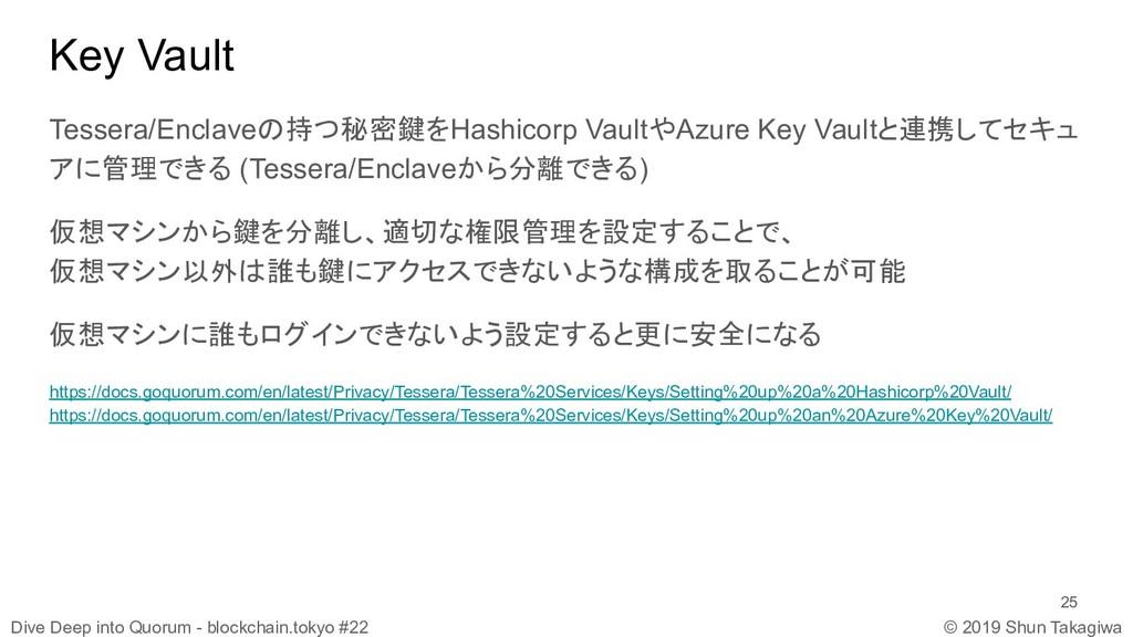 Dive Deep into Quorum - blockchain.tokyo #22 © ...