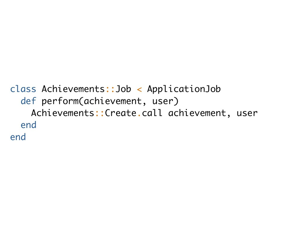 class Achievements::Job < ApplicationJob def pe...