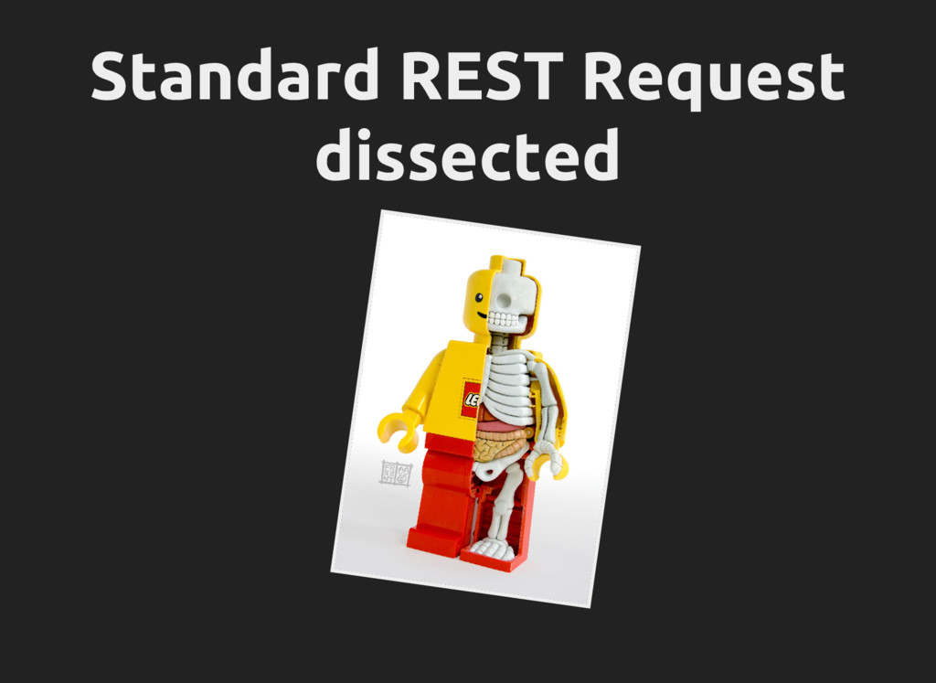 Standard REST Request dissected