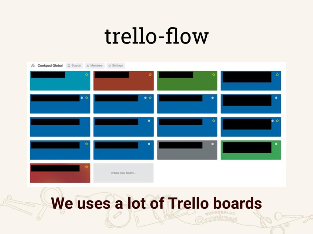 trello-flow We uses a lot of Trello boards