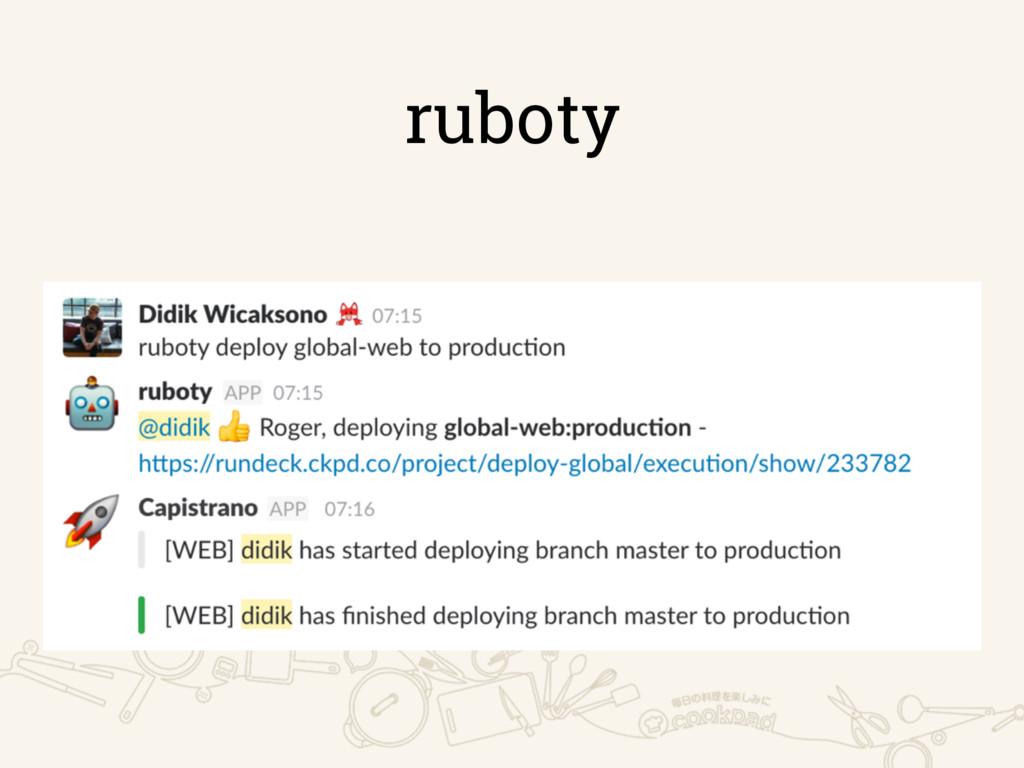 ruboty