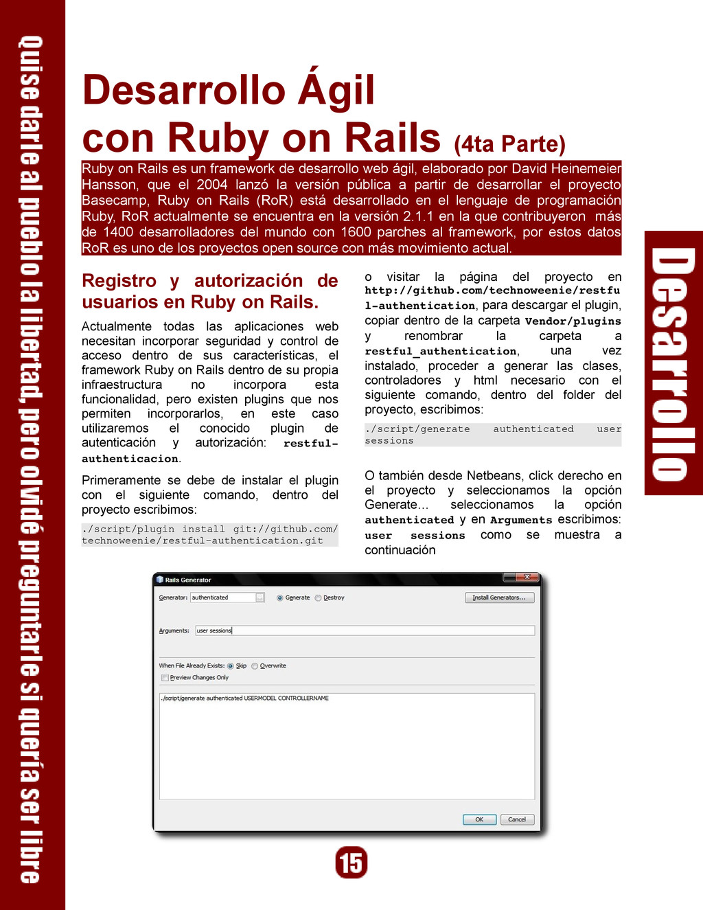 Desarrollo Ágil con Ruby on Rails (4ta Parte) R...