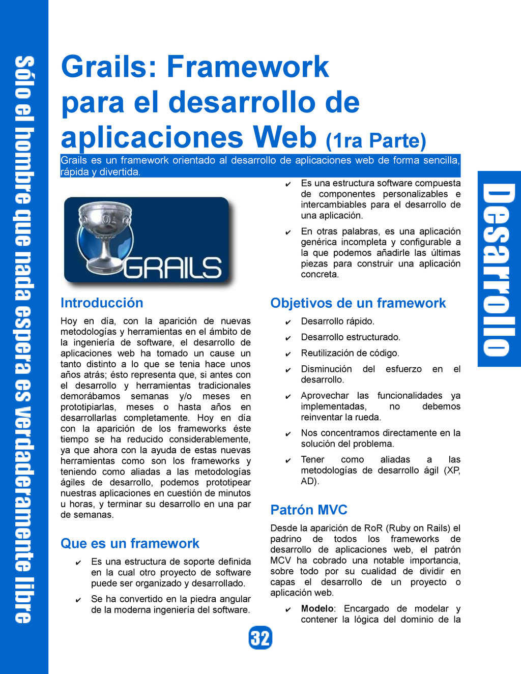 Grails: Framework para el desarrollo de aplicac...
