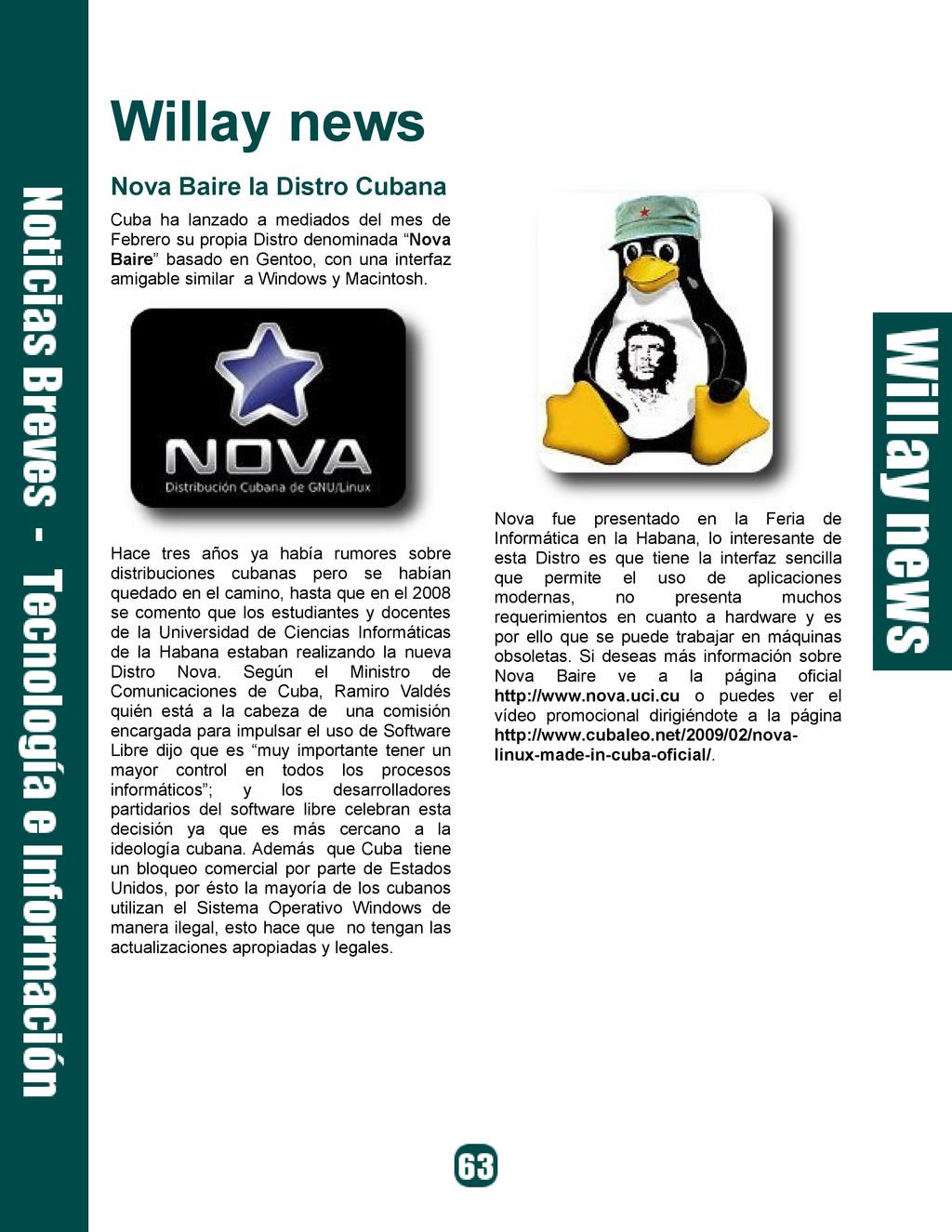 Willay news Nova Baire la Distro Cubana Cuba ha...